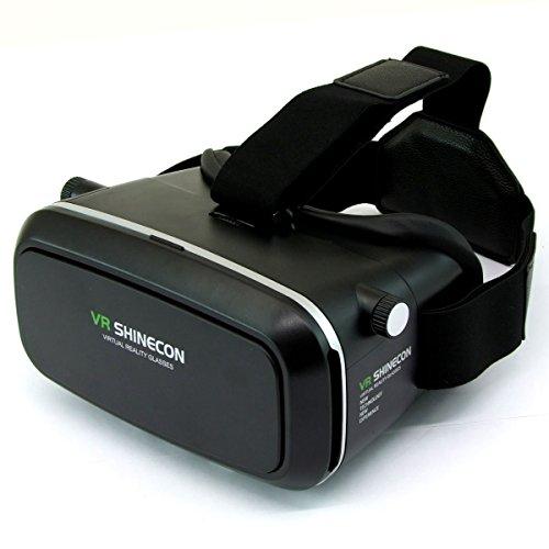3D VRメガネ VersionTech 改良版 VRヘッドセット 超3D映像効果 ヘッドバンド付き ピント調整&視野調整可能 ゲーム/映画/ビデオ ゴーグル 4.7-6.0インチのiPhone/Androidスマートフォンに適用