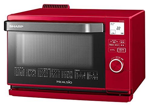 シャープ スチームオーブン ヘルシオ(HEALSIO) 18L 1段調理 レッド AX-CA400-R