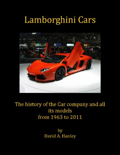 Lamborghini Cars English Edition