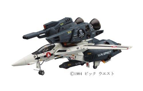 Hasegawa the Super Dimension Fortress Macross VF-1S/A strike / Super Valkyrie Scull platoon 1 / 48 scale plastic model MC03