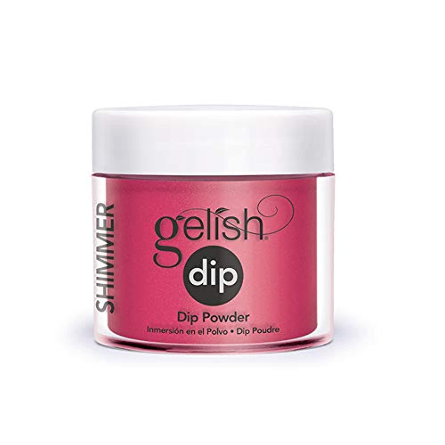赤ぶどう舗装Harmony Gelish - Acrylic Dip Powder - Gossip Girl - 23g / 0.8oz