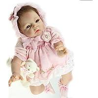 ハンドメイドシリコン人形ガール22インチベビー人形