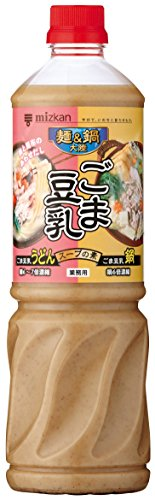 ミツカン 麺&鍋大陸 ごま豆乳スープの素 1150g