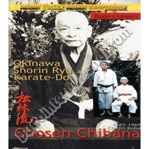 Okinawa Shorin-Ryu Karate Chosen Chibana DVD by Chosen Chibana