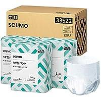 [Amazonブランド]SOLIMO うす型パンツ (大人用紙おむつ) L~LLサイズ 36枚×3個【ADL区分:歩ける方・座れる方に】【ケース販売】
