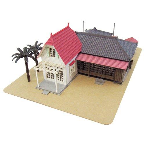 스튜디오 지브리 시리즈 이웃의 토토로 《사츠키》와 메이의 집 1/150스케일 종이공예 MK07-01-MK07-01 (2010-12-05)