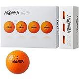 本間ゴルフ HONMA ボール D1 ボール 2018年モデル 3ダースセット 3ダース(36個入り) オレンジ