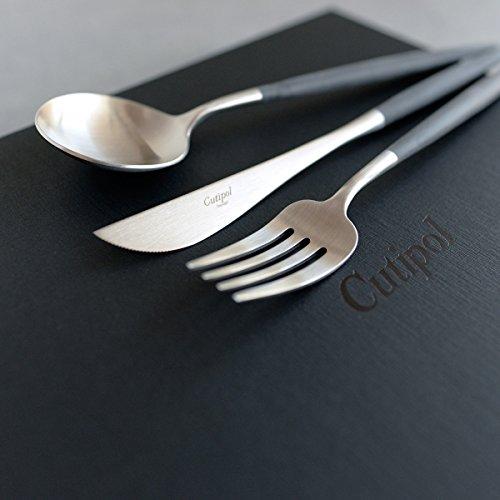 アラビア、イッタラなど北欧食器と相性のいいカトラリー。CutipolのGOAシリーズ