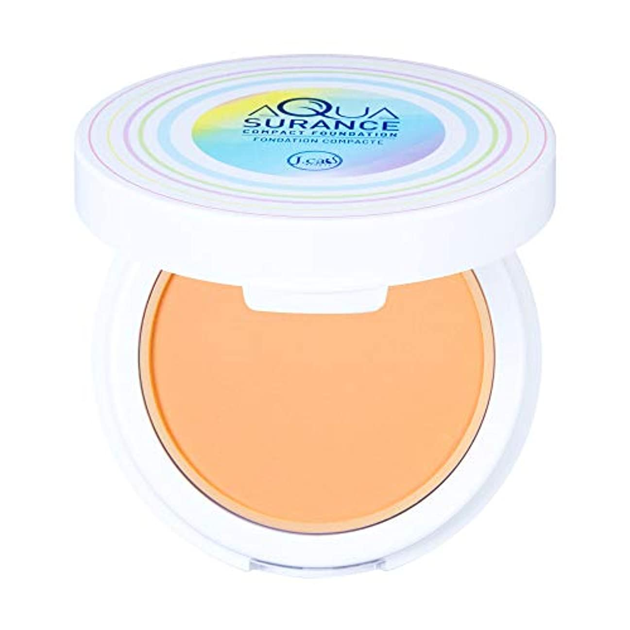 半ば認証抜け目のないJ. CAT BEAUTY Aquasurance Compact Foundation - Buff (3 Pack) (並行輸入品)