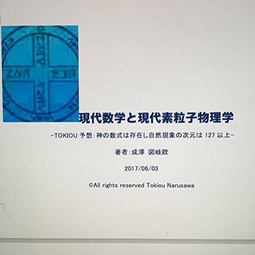 現代数学と現代素粒子物理学: TOKIOU予想:神の数式は存在し自然現象の次元は127以上