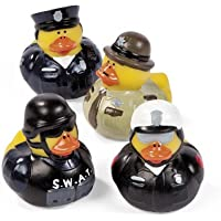 Law Enforcement Rubber Duckies (1 dz) by Fun Express [並行輸入品]