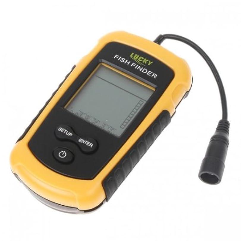 スティーブンソン出撃者音楽100m ポータブルソナーセンサー 超音波式携帯型魚群探知機 [並行輸入品]