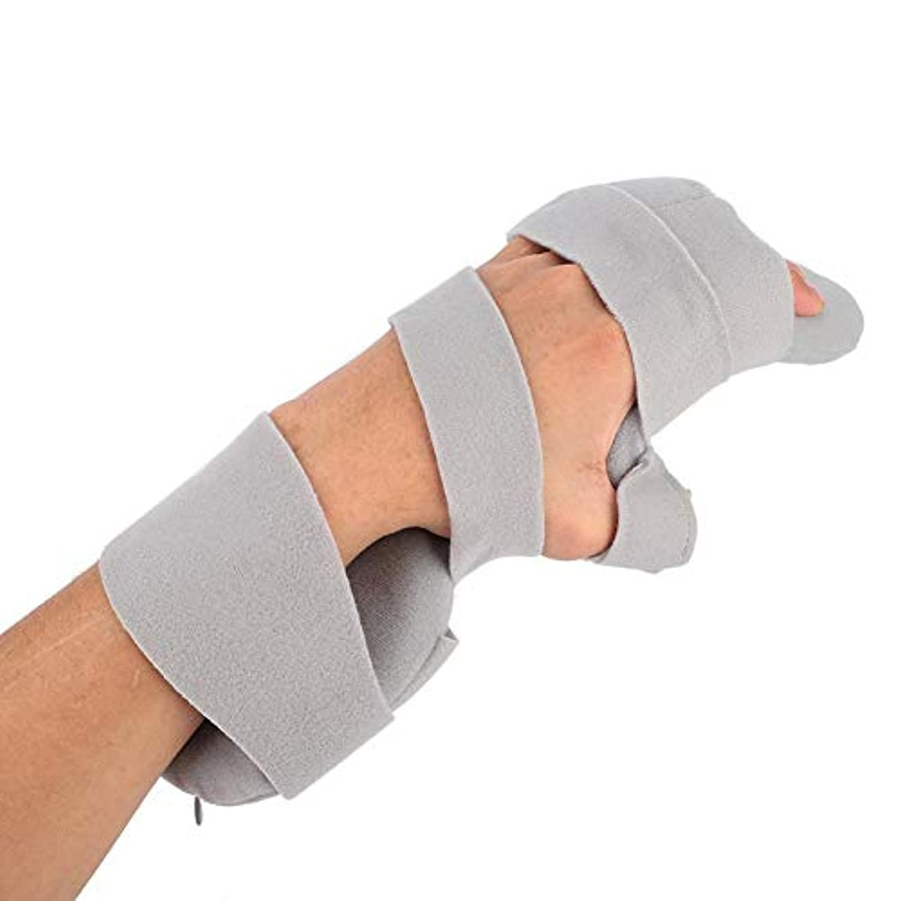 手指関節手根管手首のトンネル手首支え、指の骨折、骨折した骨折、骨折、骨折、脱臼、捻挫、ひずみ傷回復(Right)