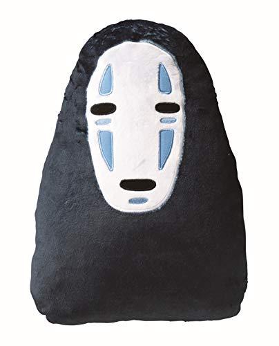 丸眞 クッション ジブリ 千と千尋の神隠し H41.5×W30.3cm カオナシと一緒 低反発素材 1145009700
