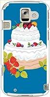 ohama F-08E らくらくスマートフォン2 ハードケース y042_d スイーツ 洋菓子 デコレーションケーキ スマホ ケース スマートフォン カバー カスタム ジャケット docomo