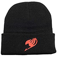 YYJC-Online Fairy Tail Beanie Hat One Size Fits Most Black