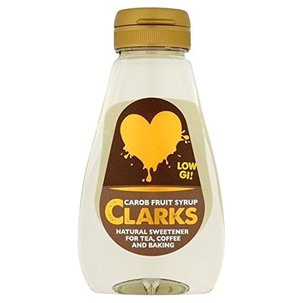 アーサー苦しめる関与するクラークスイナゴマメフルーツシロップ250ミリリットル (x 4) - Clarks Carob Fruit Syrup 250ml (Pack of 4) [並行輸入品]