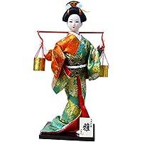和風の美しい着物芸者/舞妓人形/ギフト/ジュエリー-A5