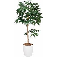 光触媒 人工観葉植物 光の楽園 パキラトピアリー 1.2m 193A180