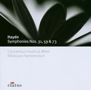 Haydn: Symphonies Nos.31,59,73