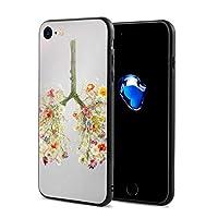 SUNDY 小さい花 IPhone7/8 ケース スマホケース 落下防止 カバー リング付き 全面保護 携帯カバー 携帯ケース 超薄 超軽量 衝撃 おしゃれ 男女兼用