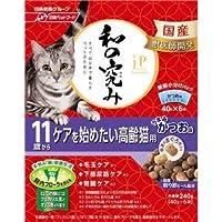(まとめ)ジェーピースタイル 和の究み 11歳から ケアを始めたい高齢猫用 240g【×12セット】【ペット用品・猫用フード】