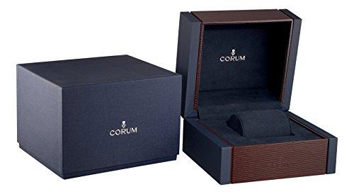 Corum Admiral 's Cup Womens 32mmマザーオブパール面ステンレススチールブレスレットスイス時計020.100.20/ v200pn22