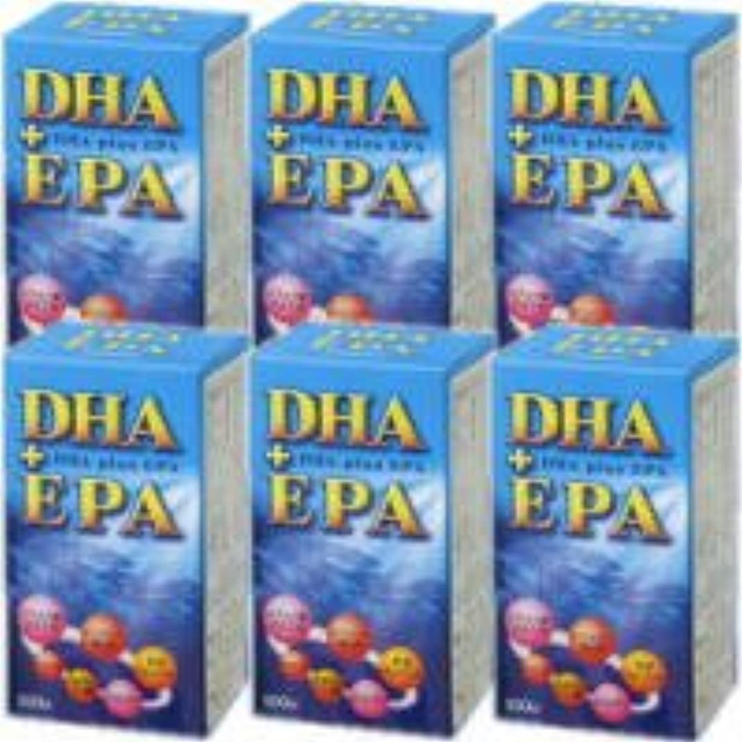 怠惰記念品コンテンポラリーDHA+EPA 6個