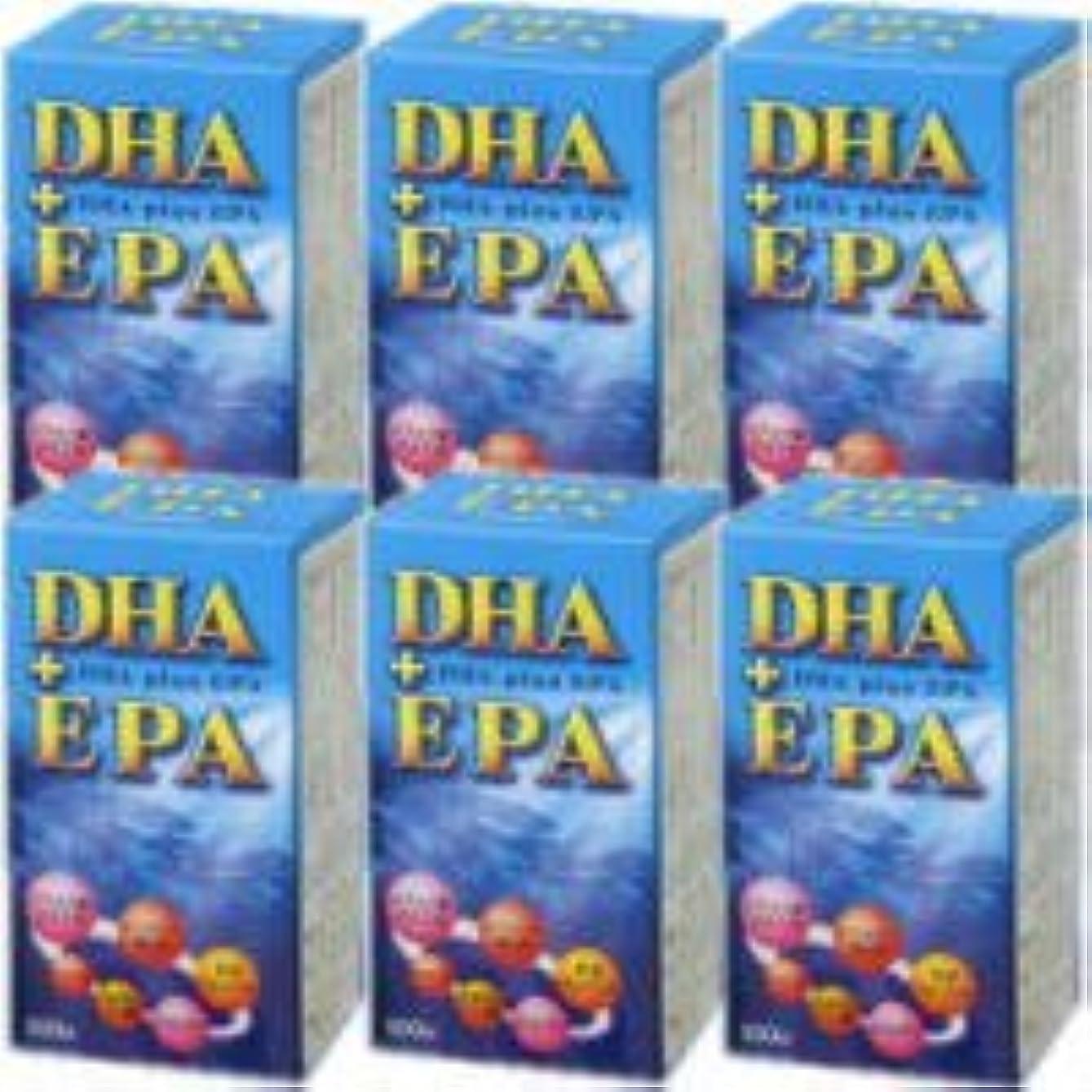 橋脚印象的な読みやすいDHA+EPA 6個