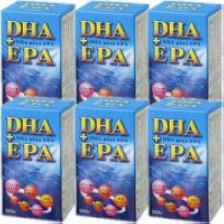 バッジ恐れる津波DHA+EPA 6個