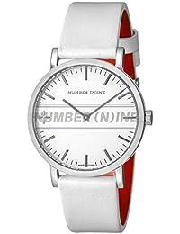 [エンジェルクローバー]Angel Clover 腕時計 NUMBER(N)INE ホワイト文字盤 NNR40SSV-WH メンズ