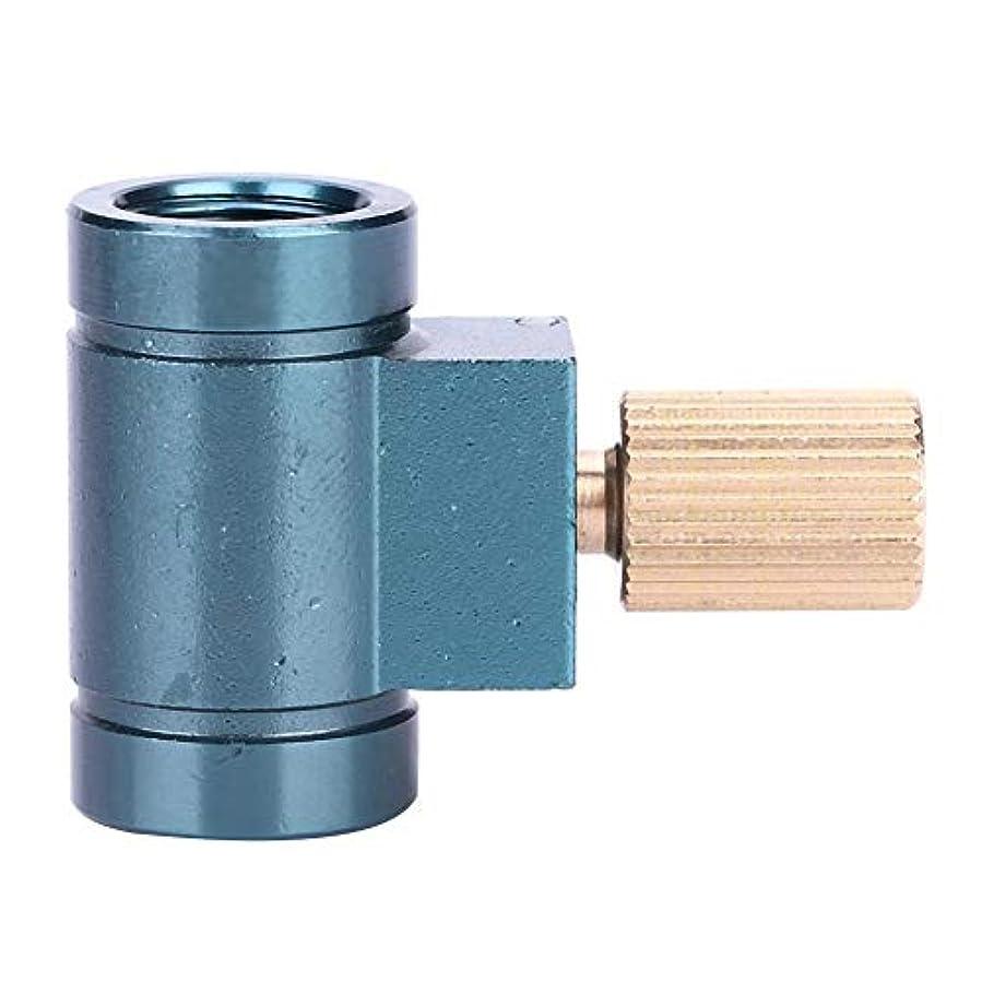 付添人東部噴出するガス詰め替えアダプター リンドルバルブキャニスターガスコンバーターシフター ガスカートリッジヘッド変換アダプタ アウトドア用ボンベのガスを詰め替える OD缶 対応