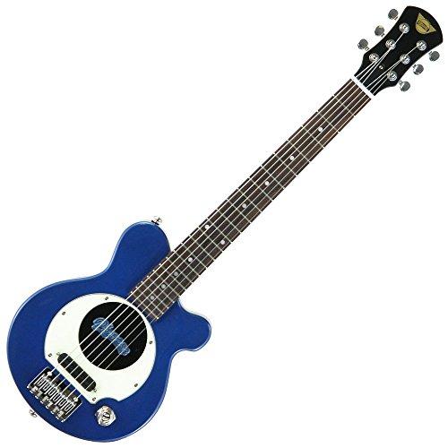 Pignose Pignose with electric guitar metallic Blau soft case PGG-200 MBL