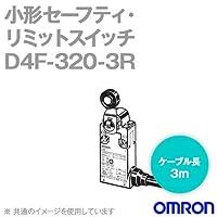 オムロン(OMRON) D4F-320-3R 小形セーフティ・リミットスイッチ (2NC2NO/ローラ・レバー形) NN