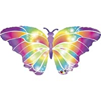 110cm Butterfly Luminous Shape Balloon
