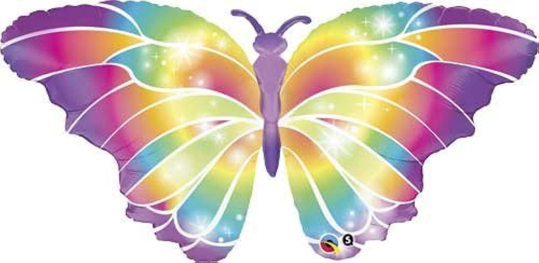 110cm Butterfly Luminous Shape Balloon