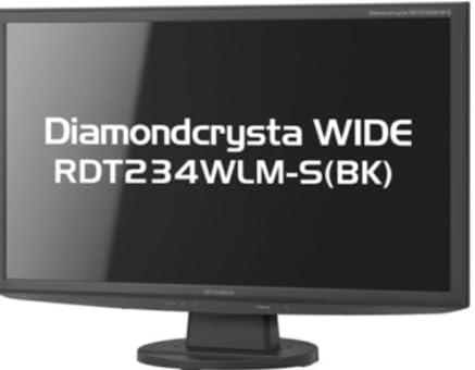 MITSUBISHI 23型LED液晶ディスプレイ(グレアパネル) RDT234WLM-S(BK)