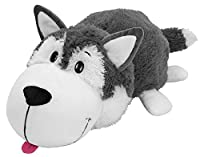 FlipaZoo The 16 Pillow with 2 Sides of Fun for Everyone - Each Huggable FlipaZoo character is Two Wonderful Collectibles in One (Husky / Polar Bear) by FlipaZoo