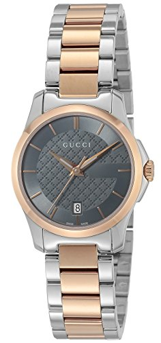 [グッチ]GUCCI 腕時計 Gタイムレス グレー文字盤 YA126527 レディース 【並行輸入品】