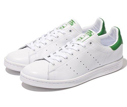 adidas(アディダス) スタンスミス M20324 Running White/Fairway(ホワイト×グリーン) 26.5cm