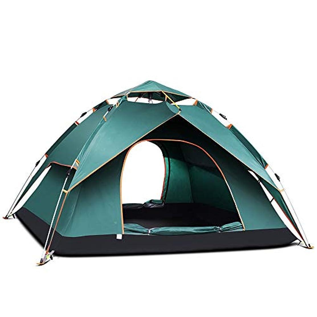 コントロール静かに薬Ostulla 5?6人10?10フィートの屋外用ドームファミリーキャンプ用テント100%防水2500 mm、組み立てが簡単、耐久性のある布地全域ビーチ、屋外、旅行、ハイキングに最適 気配りの行き届いたサービス (Color : Natural)