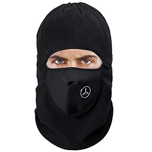 EFFOEネックウォーマー フェイスガード フェイスマスク バイクマスク ターバン ネック 目出し帽 曇らない ...
