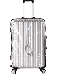 Oche 透明 スーツケースカバー 携帯 キャリー バッグ かばん ラゲッジ クリア ビニール カバー 雨 防水