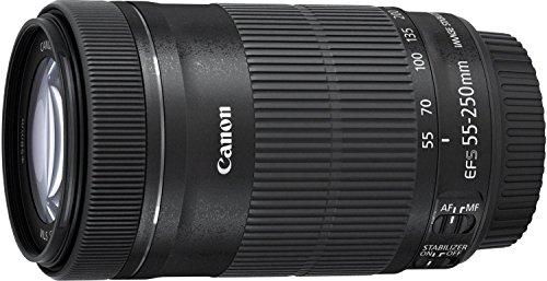 Canon 望遠ズームレンズ EF-S55-250mm F4-5.6 IS STM APS-C対応 EF-S55-250ISSTM
