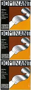 Dominant ドミナント 4/4バイオリン弦 A.D.G線セット(D線アルミ巻)