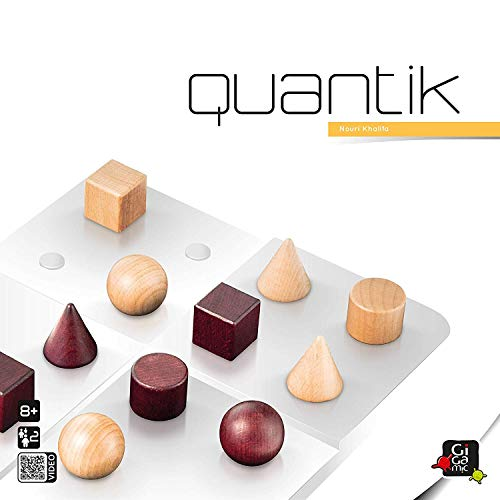 ギガミック(Gigamic) クアンティック Quantik ボードゲーム テーブルゲーム 知育玩具 脳トレ パズル [並行輸入品]