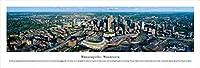 ミネアポリス、ミネソタ、ターゲットフィールド - Blakeway Panoramas Unframed Skyline Posters