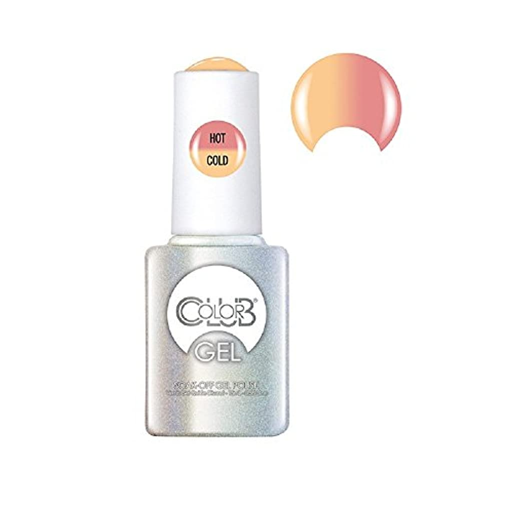ジュースカンガルー戻すColor Club Gel Polish - Happy Go Lucky - 0.5oz / 15ml