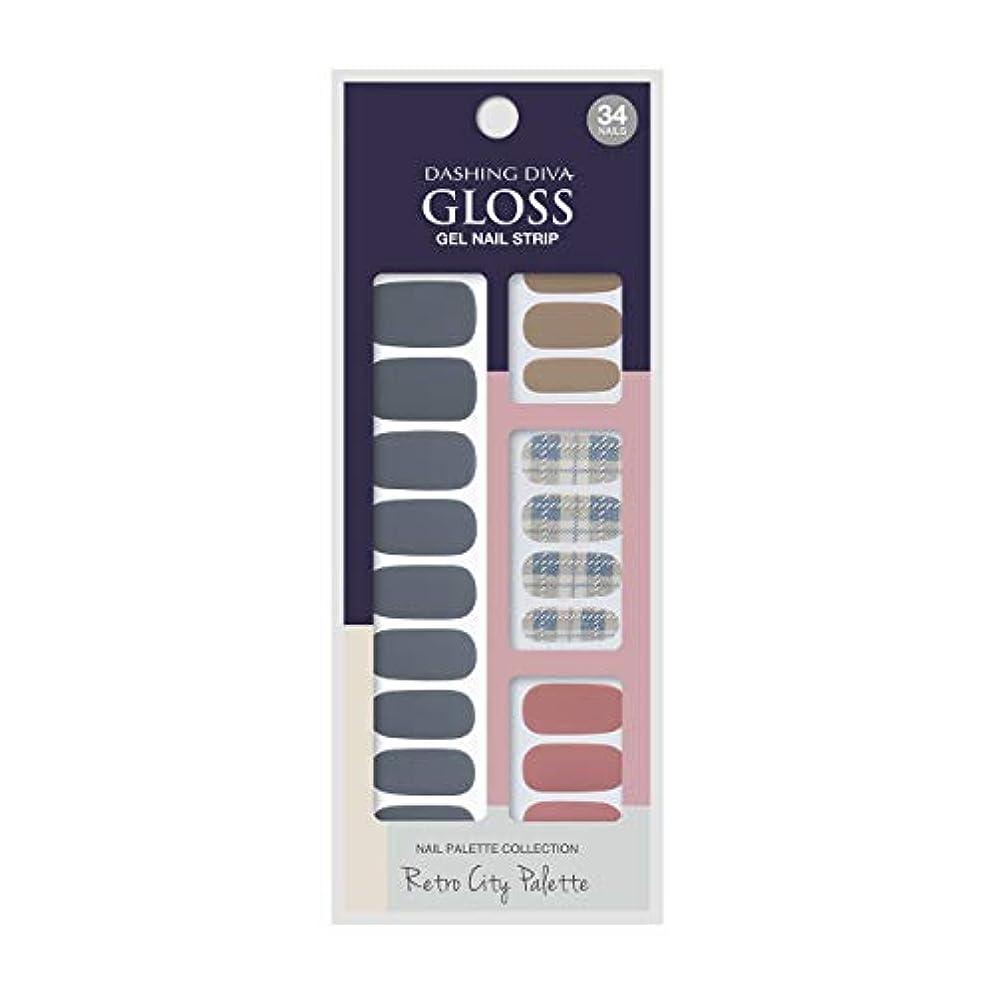 息切れホイップ痛いダッシングディバ グロスジェル ネイルストリップ DASHING DIVA Gloss Gel Nail Strip GVP90 -DURY+ オリジナルジェル ネイルシール Blue Crayon
