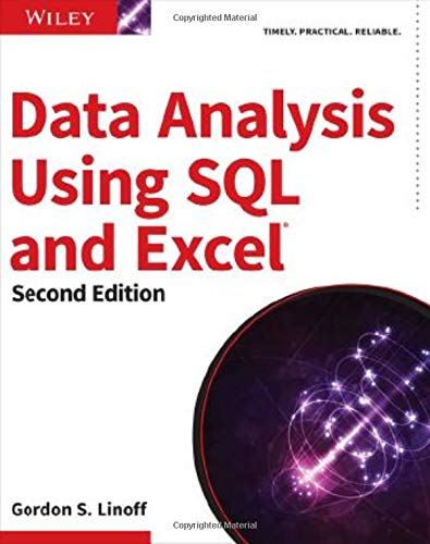 Download Data Analysis Using SQL and Excel, 2nd Edition 111902143X